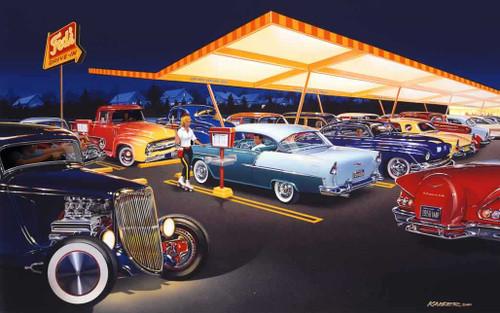 Classic Cars 240-87-5 Artwork Micro Fiber Cleaning Cloth