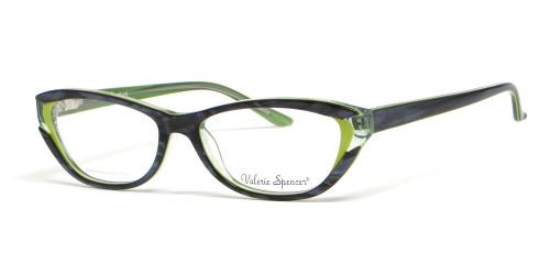 Valerie Spencer 9272 in Forest Designer Reading Glasses