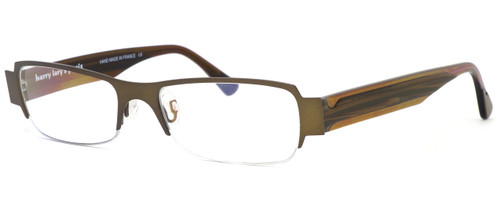 Harry Lary's French Optical Eyewear Negativy Eyeglasses in Brown (456) :: Rx Single Vision