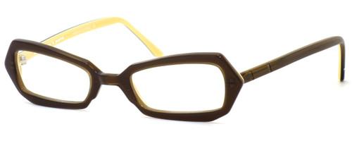 Harry Lary's French Optical Eyewear Blondy Eyeglasses in Amber (307) :: Progressive