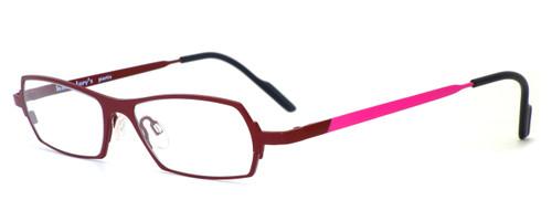 Harry Lary's French Optical Eyewear Mixxxy Eyeglasses in Burgundy (874) :: Progressive