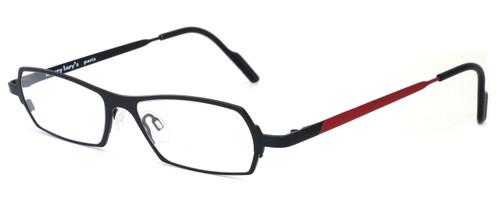 Harry Lary's French Optical Eyewear Mixxxy Eyeglasses in Matte Black & Red (860) :: Progressive