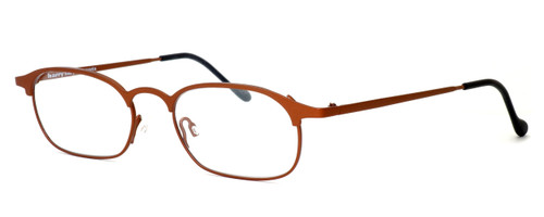 Harry Lary's French Optical Eyewear Neals Eyeglasses in Satin Rust (882) :: Progressive