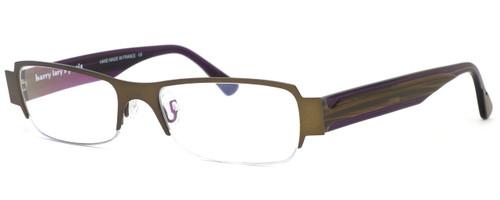 Harry Lary's French Optical Eyewear Negativy Eyeglasses in Bronze (C52) :: Progressive