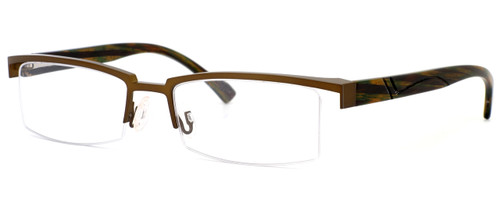 Harry Lary's French Optical Eyewear Ministry Eyeglasses in Bronze (456) :: Rx Bi-Focal