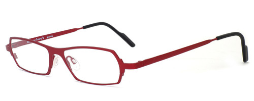 Harry Lary's French Optical Eyewear Mixxxy Eyeglasses in Red (360) :: Rx Bi-Focal