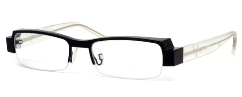 Harry Lary's French Optical Eyewear Galaxy in Black Clear (911) :: Rx Single Vision