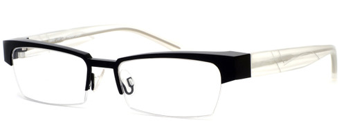 Harry Lary's French Optical Eyewear Idoly in Black Clear (911) :: Rx Single Vision