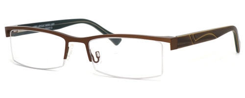Harry Lary's French Optical Eyewear Kindgdom in Brown (457) :: Rx Single Vision