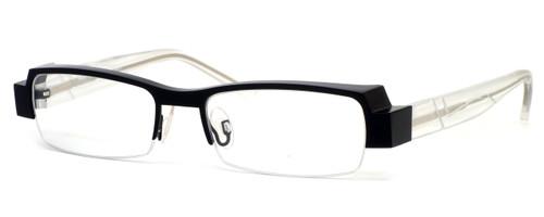 Harry Lary's French Optical Eyewear Galaxy in Black Clear (911) :: Bi-Focal