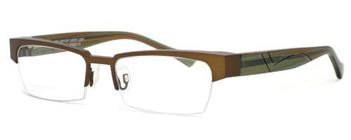 Harry Lary's French Optical Eyewear Idoly in Gold Green (456) :: Bi-Focal