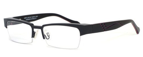Harry Lary's French Optical Eyewear Idoly in Black Pink (825) :: Bi-Focal
