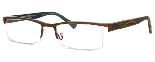 Harry Lary's French Optical Eyewear Kindgdom in Brown (457) :: Progressive
