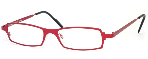 Harry Lary's French Optical Eyewear Victory in Red (360) :: Progressive