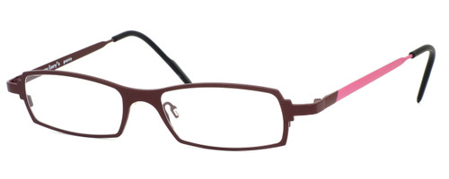 Harry Lary's French Optical Eyewear Victory in Ruby Pink (874) :: Progressive