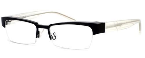 Harry Lary's French Optical Eyewear Idoly in Black Clear (911) :: Rx Bi-Focal