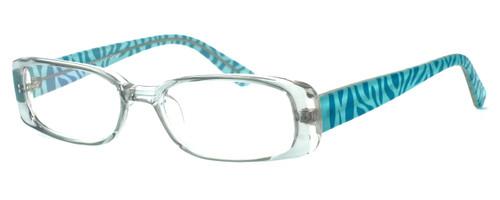 Moda Vision 8004 Designer Eyeglasses in Green :: Custom Left & Right Lens