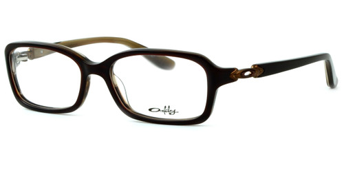 Oakley Optical Eyeglass Collection Crimp 1070 in Brown Marble (0453) :: Custom Left & Right Lens