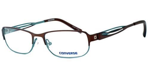 Converse Spray Paint Designer Eyeglasses in Brown/Green :: Rx Single Vision
