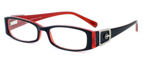 Calabria Designer Reading Glasses 814 Ebony