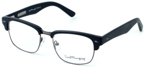 Ernest Hemingway Eyewear Collection 4629 in Matte Black & Gunmetal :: Rx Bi-Focal
