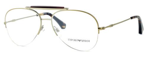 Emporio Armani Designer Eyeglasses EA1020-3002 in Gold :: Rx Single Vision
