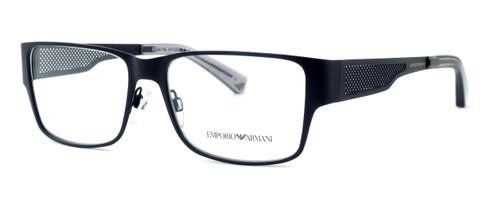 Emporio Armani Designer Eyeglasses EA1022-3001 in Black 55 mm :: Rx Single Vision