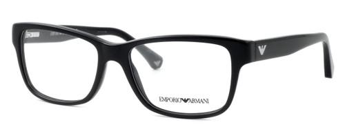 Emporio Armani Designer Eyeglasses EA3051-5017 in Black :: Rx Bi-Focal