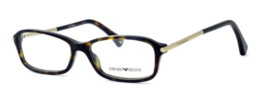 Emporio Armani Designer Reading Glasses EA3006-5026 in Tortoise