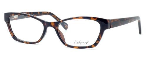 Enhance Optical Designer Eyeglasses 3903 in Tortoise :: Custom Left & Right Lens