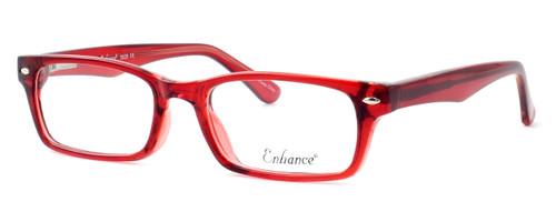 Enhance Optical Designer Eyeglasses 3928 in Burgundy :: Custom Left & Right Lens