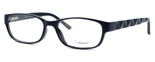 Enhance Optical Designer Eyeglasses 3959 in Black :: Custom Left & Right Lens