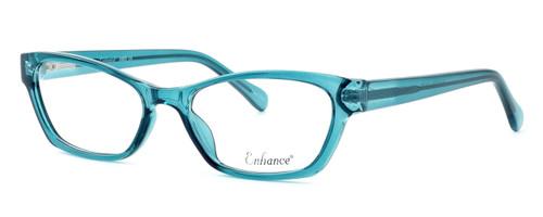 Enhance Optical Designer Eyeglasses 3903 in Azure :: Progressive