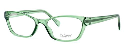 Enhance Optical Designer Eyeglasses 3903 in Jade :: Progressive