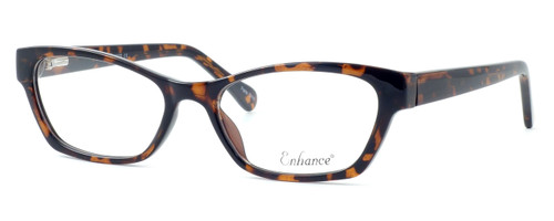 Enhance Optical Designer Eyeglasses 3903 in Tortoise :: Progressive