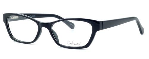 Enhance Optical Designer Eyeglasses 3903 in Black :: Rx Bi-Focal
