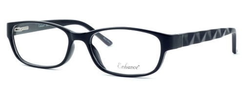 Enhance Optical Designer Eyeglasses 3959 in Black :: Rx Bi-Focal