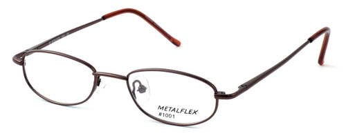 Calabria Kids Fit MetalFlex Designer Eyeglasses 1001 in Brown :: Rx Single Vision