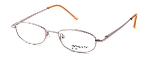 Calabria Kids Fit MetalFlex Designer Eyeglasses 1001 in Pink :: Rx Single Vision