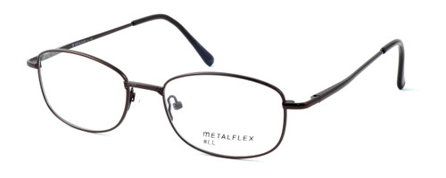 Calabria MetalFlex Designer Eyeglasses LL in Brown :: Rx Bi-Focal