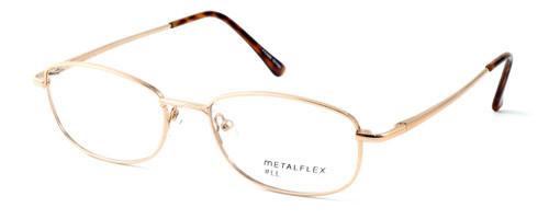 Calabria MetalFlex Designer Eyeglasses LL in Gold :: Rx Bi-Focal