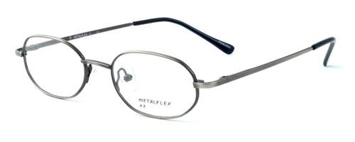 Calabria MetalFlex Designer Eyeglasses P in Antique Pewter :: Rx Bi-Focal