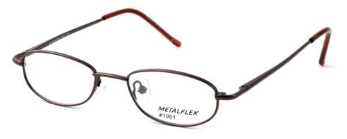 Calabria Kids Fit MetalFlex Designer Reading Glasses 1001 in Brown