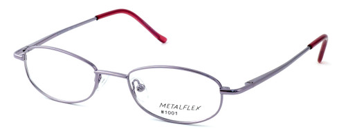 Calabria Kids Fit MetalFlex Designer Reading Glasses 1001 in Lavender