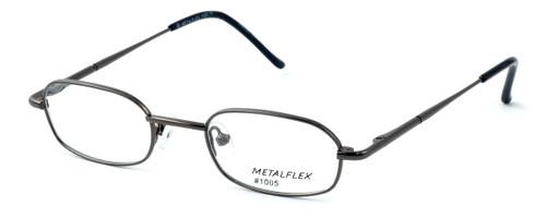 Calabria Kids Fit MetalFlex Designer Reading Glasses 1005 in Gunmetal