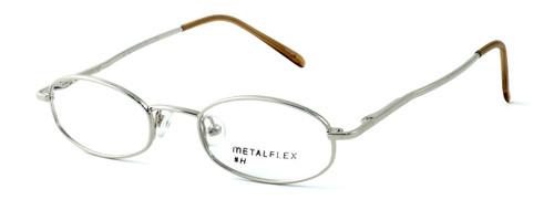 Calabria Kids Fit MetalFlex Designer Reading Glasses H in Chrome