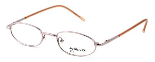 Calabria Kids Fit MetalFlex Designer Reading Glasses TT in Pink