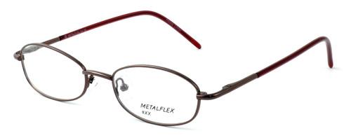 Calabria Kids Fit MetalFlex Designer Reading Glasses XX in Brown