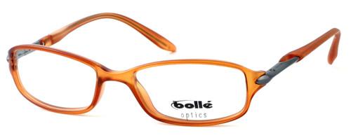 Bollé Designer Eyeglasses Elysee in Satin Cognac 70216 52mm :: Progressive