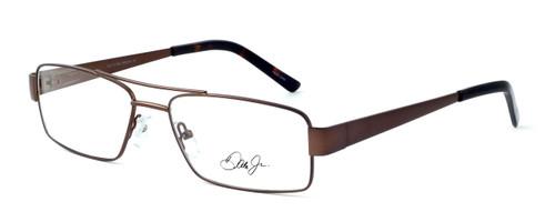 Dale Earnhardt, Jr. 6783 Designer Eyeglasses in Brown :: Rx Single Vision